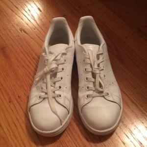 Adidas all white Stan Smith sneakers